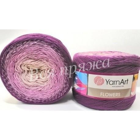 FLOWERS YarnArt 290