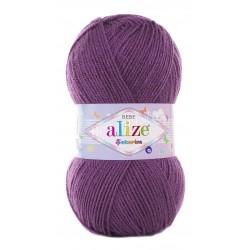 SEKERIM BEBE Alize 206 (Фиолетовый) - Снят с производства