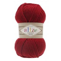 LANAGOLD PLUS Alize 56 (Красный)