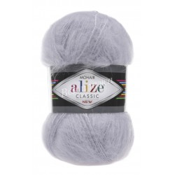 MOHAIR CLASSIC Alize 52 (Светло-серый)