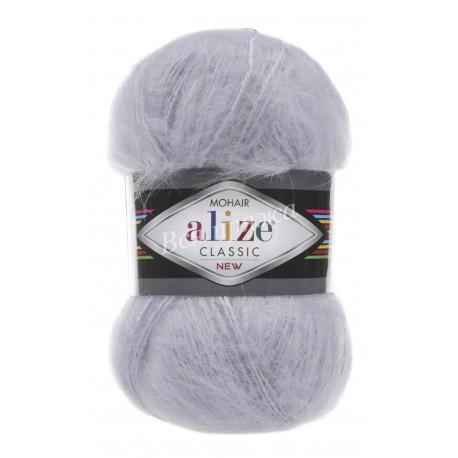 MOHAIR CLASSIC Alize 52 (Светло-серый)