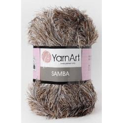 SAMBA YarnArt 99 (Коричневый меланж)