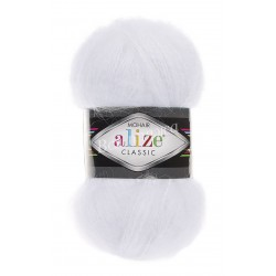 MOHAIR CLASSIC Alize 55 (Белый)