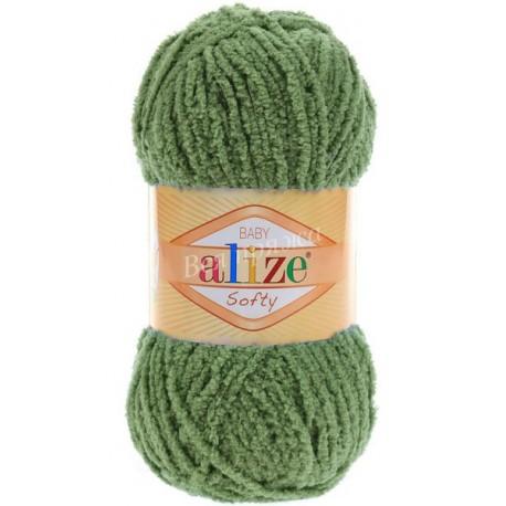 SOFTY Alize 485 (Зеленая черепаха)