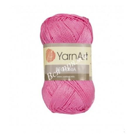 BEGONIA YarnArt 5001 Ярко-розовый