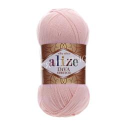 DIVA STRETCH Alize 363 (Светло-розовый)