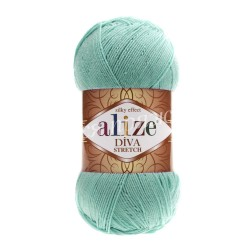 DIVA STRETCH Alize 376 (Бирюзовый)