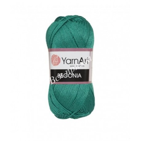 BEGONIA YarnArt 6334 Зеленый