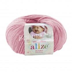 BABY WOOL Alize 194 (Розовый)