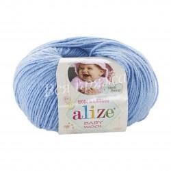 BABY WOOL Alize 40 (Голубой)