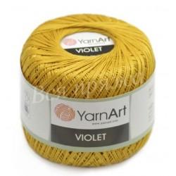 VIOLET YarnArt 6340 (Горчица)