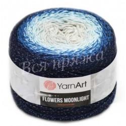 FLOWERS MOONLIGHT YarnArt 3261