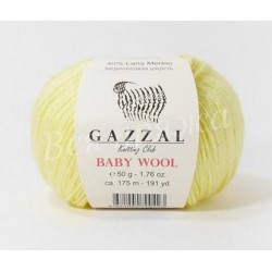 BABY WOOL Gazzal 833 (Лимон)