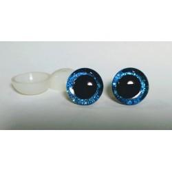 Глазки безопасные для игрушек. 16 мм. Голубой. Пара