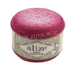 BELLA OMBRE BATIK Alize 7405 (Розовый)