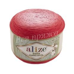 BELLA OMBRE BATIK Alize 7404 (Красный)