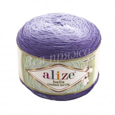 BELLA OMBRE BATIK Alize 7406 (Фиолетовый)