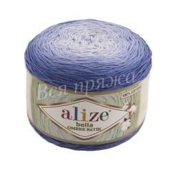 BELLA OMBRE BATIK Alize 7407 (Синий)