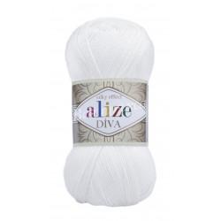 DIVA Alize 55 (Белый)