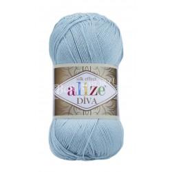 DIVA Alize 346 (Голубая бирюза)