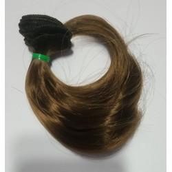 Волосы для кукол (Трессы) 6 (Русый)