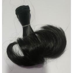 Волосы для кукол (Трессы) 05-1 (Темный каштан)