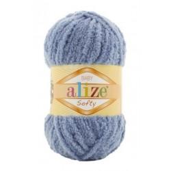 SOFTY Alize 51823 (Желто-серый)