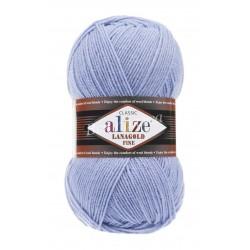 LANAGOLD FINE Alize 40 (Голубой)