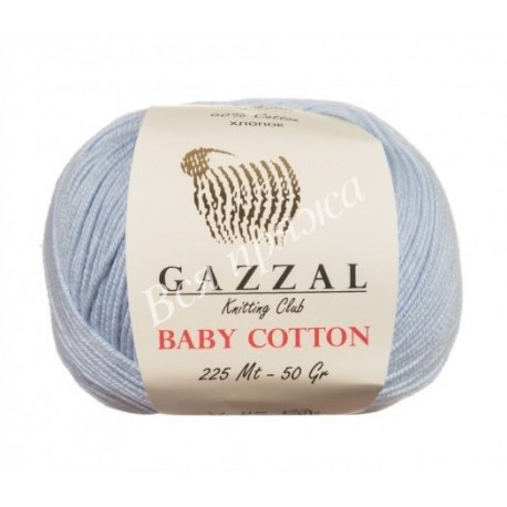 BABY COTTON GAZZAL 3429