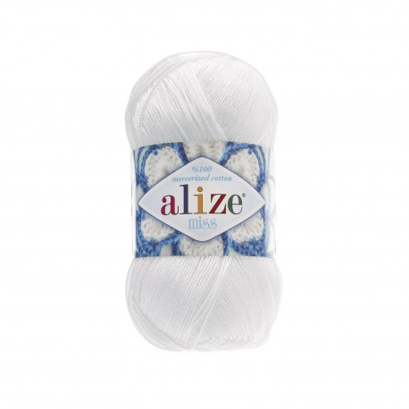 MISS Alize 55 (Белый)