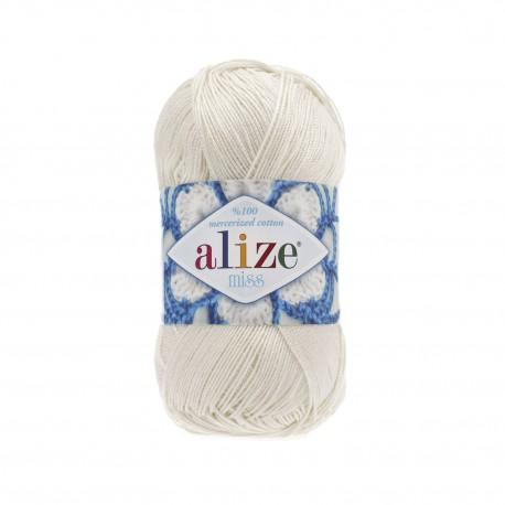 MISS Alize 62 (Молочный)