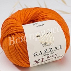 BABY COTTON XL GAZZAL 3419 (Оранж)