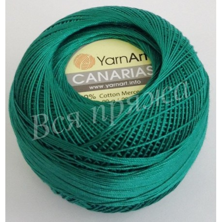 CANARIAS YarnArt 6334 (Зеленый)