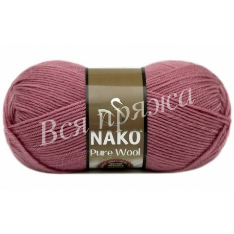 PURE WOOL Nako 275 (Сиренево-розовый)