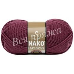 PURE WOOL Nako 6592 (Бордовый)