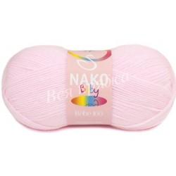 BEBE 100 Nako 23069 (Бледно-розовый)