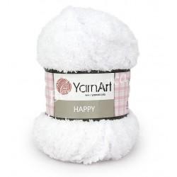 HAPPY YarnArt 770 (Белый)