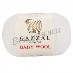 BABY WOOL Gazzal 801 (Белый)