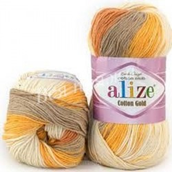 COTTON GOLD BATIK Alize 6520