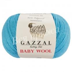 BABY WOOL Gazzal 820 (Бирюза)