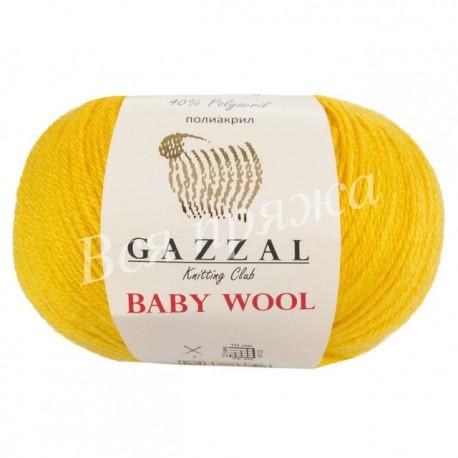 BABY WOOL Gazzal 812 (Желтый)