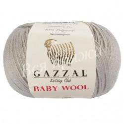 BABY WOOL Gazzal 817 (Светло-серый)