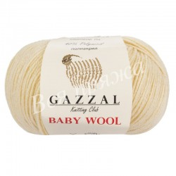 BABY WOOL Gazzal 829 (Молочный)