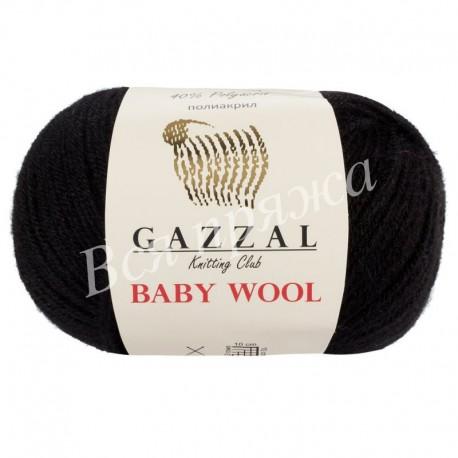 BABY WOOL Gazzal 803 (Черный)