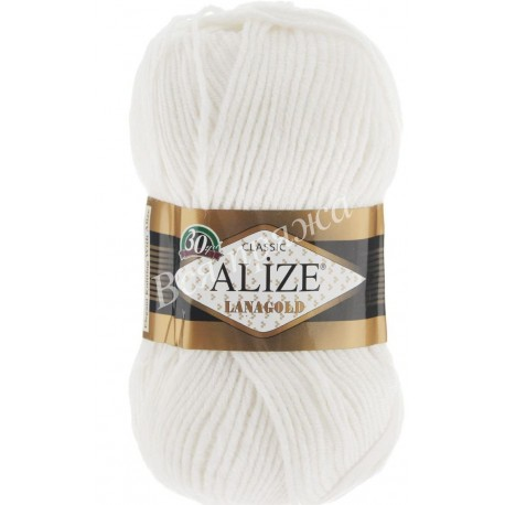 LANAGOLD CLASSIC Alize 55 (Белый)