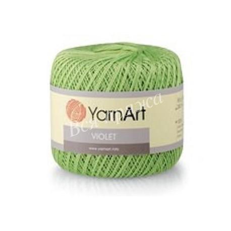 VIOLET YarnArt 6369 (Светло-зеленый)