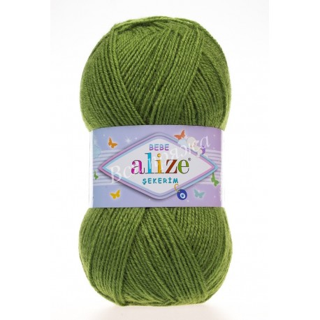 SEKERIM BEBE Alize 210 (Зеленый)