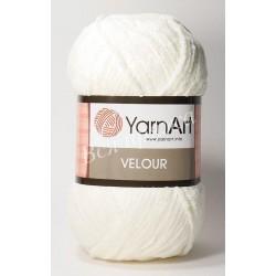 VELOUR YarnArt 841(Молочный)