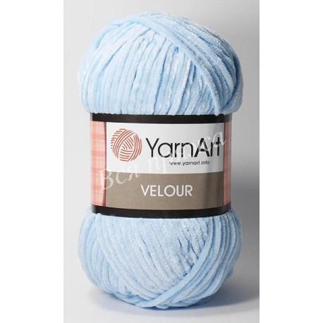 VELOUR YarnArt 851 (Голубой)