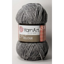 VELOUR YarnArt 858 (Серый)